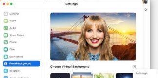 Cara Mengganti Background di Aplikasi Zoom.