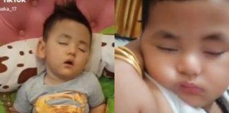 Viral, Bayi Tidur Hampir Setahun Idap Sleeping Beauty Syndrome.