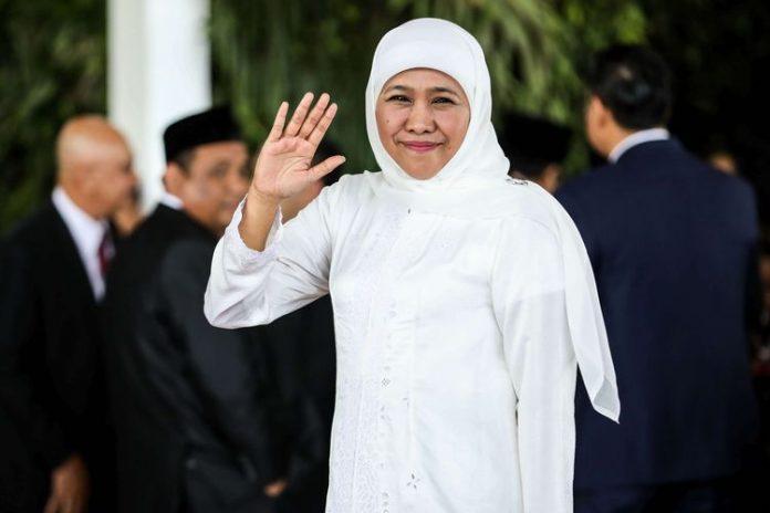 Foto: Gubernur Jawa Timur Khofifah Indar Parawansa