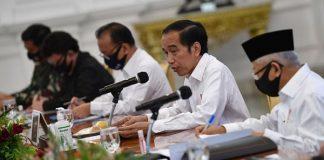 Presiden Jokowi Bentuk Tim Penanganan Covid-19 dan Pemulihan Ekonomi Nasional.