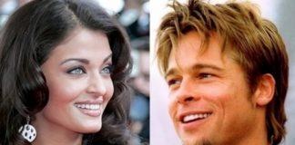 Aishwarya Rai dan Brad Pitt.