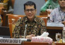 Foto: Menteri Pariwisata dan Ekonomi Kreatif Wishnutama