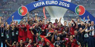 Portugal Juara Piala EURO 2016.