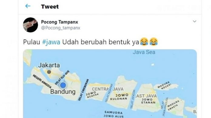 Trending Topik Tagar #jawa.