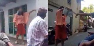 Viral, Ngaku Yahudi Wanita Ini Lempar dan Ancam Robek Al Quran.