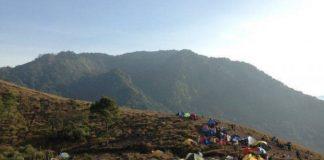 Gunung Guntur Garut.