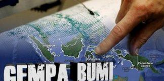 Gempa Bumi 5,4 SR Guncang Banten, Dirasakan Warga Jakarta.