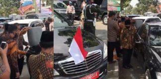 Viral, Video Mobil Wapres Isi BBM Pakai Jeriken.