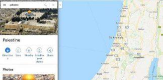 Palestina Dihapus dari Peta Digital, Netizen Serbu Google dan Apple.