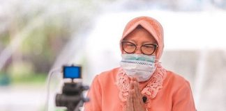 Wali Kota Surabaya Tri Rismaharini (Risma).