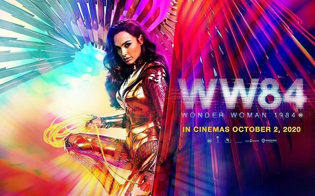 Wonder Woman 1984 Rilis Poster dan Video Trailer Baru.