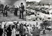Pembantaian Tel Al-Zaatar Lebanon.