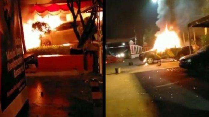 Penyerangan Polsek Ciracas Oleh OTK.