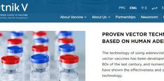 WHO Tanggapi Soal Vaksin Covid-19 Buatan Rusia Sputnik V.