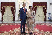 Presiden Joko Widodo (Jokowi) dan Ibu Negara Iriana.