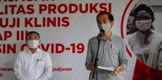 Presiden Jokowi: 215 Negara Rebutan Vaksin Covid-19.