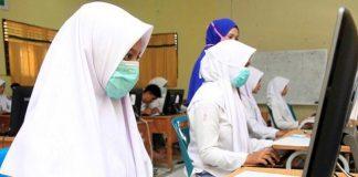 Pemerintah Provinsi (Pemprov) Jatim yang akan menggelar uji coba sekolah tatap muka siswa SMK/SMA dan SLB, Selasa 18 Agustus 2020.
