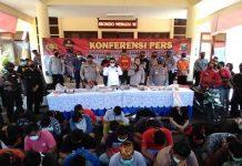 Puluhan Pendekar Silat PSHT Jadi Tersangka Kerusuhan di Situbondo.