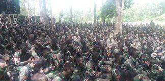 Ribuan Prajurit Raider TNI AD Gelar Latihan Tempur.