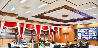 Presiden Jokowi Minta Kasus Positif Covid-19 di Aceh Tidak Dibiarkan Membesar.