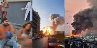 Fakta Ledakan di Beirut Lebanon, Dahsyat Menghancurkan Seperti Bom Nuklir.