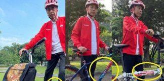 Sepeda Lipat Kreuz Bandung Yang Dipakai Jokowi Kini Banjir Orderan.