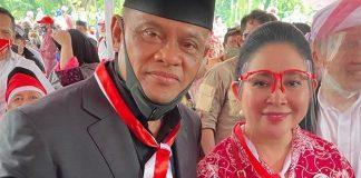 Gatot Nurmantyodan Siti Hediyati Hariyadi alias Titiek Soeharto.