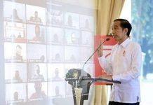 Presiden Jokowi Bakal Beri Sambutan Secara Virtual di KLB Partai Gerindra.