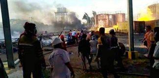 BPJamsostek Beri Santunan Korban Ledakan Pabrik Bioethanol.