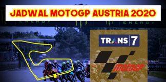 MotoGP Austria 2020 siap digelar di Sirkuit Red Bull Ring pada Minggu 16 Agustus 2020 malam WIB.