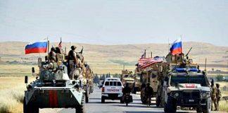 Konvoi Militer Amerika-Rusia Tabrakan di Suriah.