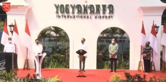 Presiden Jokowi Resmikan Bandara Baru Yogyakarta, Diklaim Tahan Gempa dan Tsunami.
