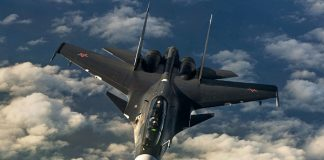 Jet Tempur Rusia Cegat Pesawat Pengintai Amerika di Laut Hitam.