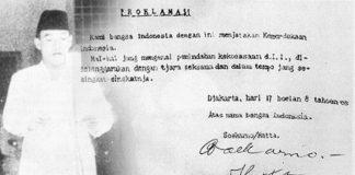 Isi Teks Proklamasi Kemerdekaan Indonesia Serta Pidato Proklamasi oleh Soekarno.