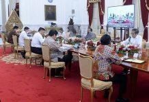 Presiden Jokowi Tak Pakai Masker Saat Ratas, Berikut Penjelasan Kasetpres.