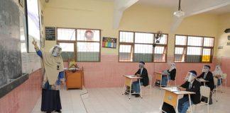 Ilustrasi Sekolah Tatap Muka.