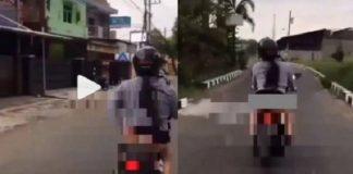Polisi Buru Wanita Pamer Pantat yang Sempat Viral di TikTok.