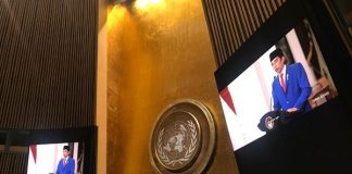 Presiden Jokowi Sampaikan Pidato pada Sidang Majelis Umum ke-75 PBB.