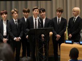 BTS Jadi Pembicara Khusus di Sidang Umum ke-75 PBB 2020.