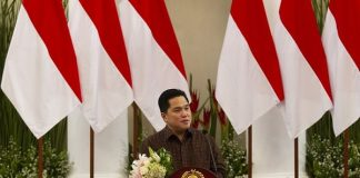 MenteriBadan Usaha Milik Negara (BUMN) Erick Thohir.