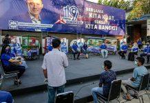 Dialog Dengan Pedagang Kaki Lima, AHY Luncurkan Gerakan Nasional Demokrat Bina UMKM.