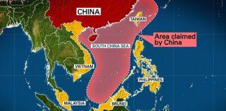 China Tuduh Amerika Jadi Penggerak Militerisasi Laut China Selatan.
