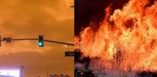 Kebakaran di California 33 Orang Tewas, Amerika Keluarkan Bendera Merah.