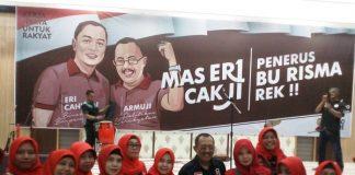 PDIP Usung Eri Cahyadi-Armuji di Pilwali Surabaya.