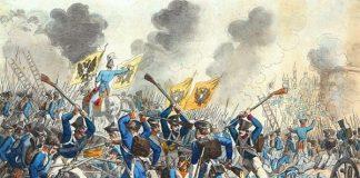 Ilustrasi Pertempuran Warsawa Berakhir.