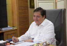 Menteri Koordinator (Menko) Bidang Perekonomian Airlangga Hartarto.