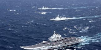 Pentagon: China Tak Bisa Tandingi Amerika Meski Kapal Militernya Lebih Banyak.