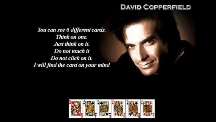 Ilusionis David Copperfield.