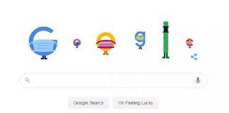 Google Doodle Tampilkan Tema Masker dan Physical Distancing.
