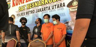Satres Narkotika Polres Metro Jakarta Utara meringkus Jaka Hidayat alias JH (45), mantan drummer band BIP di salah satu hotel, bilangan Sunter, Jakarta Utara, pada Rabu (2/9/2020).
